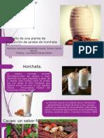 Diseño de una línea de producción de jarabe de horchata de cacao