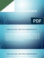 ANÁLISIS ECONÓMICO DEL SECTOR SANEAMIENTO - PERU