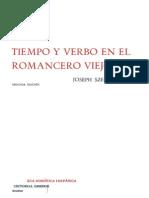 Tiempo y Verbo en El Romancero
