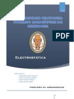 Introducción a la Electrostática