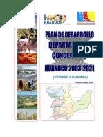 Plan de Desarrollo Concentrado -Huanuco