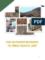 PLAN DE DESARROLLO CONCERTADO RÍMAC 2030