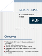 Lecture 02 - Fundamental Data Types
