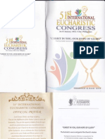 51st Eucharistic Congress Theological Basic Text