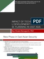 Hinata-Yamaguchi, Ryo - Technological Development and Defense Planning