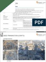 Transactions- Apartment Fund