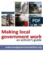 Activist Guide to Local Government