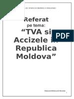 Tva Si Accizele in Republica Moldova.[Conspecte.md]
