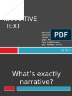 Narrative Power Point