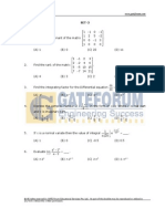 Engineering Mathematics- Sample Questions- Set-3