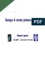 9 Reologia Di Sistemi Polimero-solvente