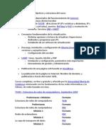 01 - Estructura Del Curso Con Enlaces de Apoyo Donde Ampliar Conocimientos