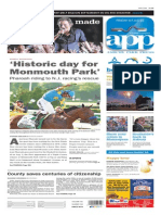 Asbury Park Press front page Friday, July 3 2015