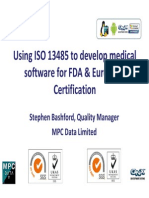Using ISO 13485 for FDA and EU Certification_MPCData