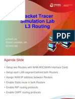 packet tracer simulation lab l3 routing
