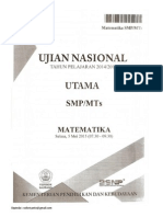 Ujian Nasional 2015 Paket 316