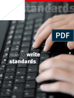 How to Write Standards