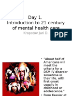 Introduction to Mental Health 21 Century