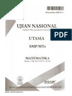 Ujian Nasional 2015 Paket 394