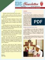 VKIC Newsletter April 14 - September 14