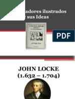 Los Pensadores ilustrados  y sus Ideas.pptx