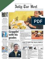The Daily Tar Heel for Feb. 18, 2010