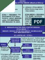Kuliah Dasar Etika Medis