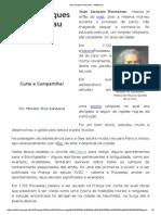 Jean Jacques Rousseau - InfoEscola