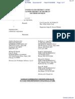 NetJumper Sofware L. L. C. v. Google, Incorporated - Document No. 87