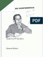 Notas de Conferencia - Ramón Riobóo
