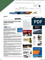 PT quis trazer R$ 20 mi para eleição de Dilma, diz doleiro