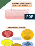 Enfoque de desarrollo socioeconómico - Alto Amazonas
