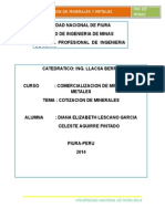 COTIZACIÓN DE LOS PRINCIPALES METALES ESTE ES TANTA.doc