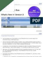 IBM Integration Bus V9