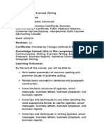 Overview - Business Writing.doc