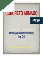 CONCEPTOS CONCRETO ARMADO