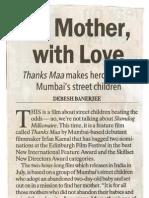 Thanks Maa - IndianExpress_NewDelhi_14_05_09
