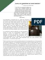 """(4) """"A FORÇA DA CALMA, NO XAMANISMO DE JORGE MENEZES"""""""