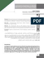 Djeghar (2009). Les Représentations Linguistiques Et Culturelles
