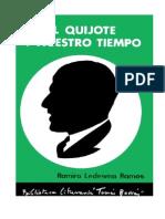 Ramiro Ledesma El Quijote y Nuestro Tiempo