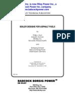 Rst-159 Boiler Design for Asphalt Fuel