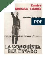 Ramiro Ledesma La Conquista Del Estado