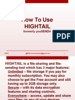 HighTail Tutorial
