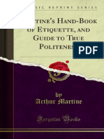 Martines Hand-Book of Etiquette and Guide to True Politeness 1000011097