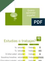 Verbos en español