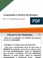 Projeto de Pesquisa - Glauce Ribeiro Gouveia