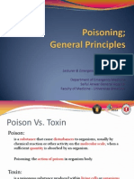 Poisoning; General Principles