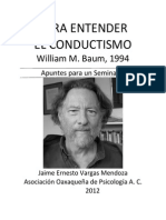 Para Entender El Conductismo-william_baum