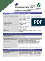 Msds Aceites para engranajes Mobil Gear.pdf
