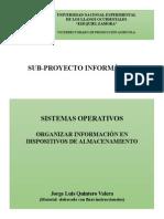 Organizar la Información en Dispositivos de Almacenamiento